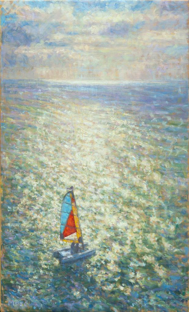 Peggie Moje, Sail Away, oil