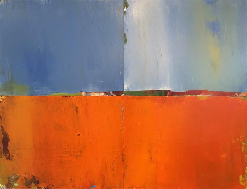 Ted Olson, Tropics, oil