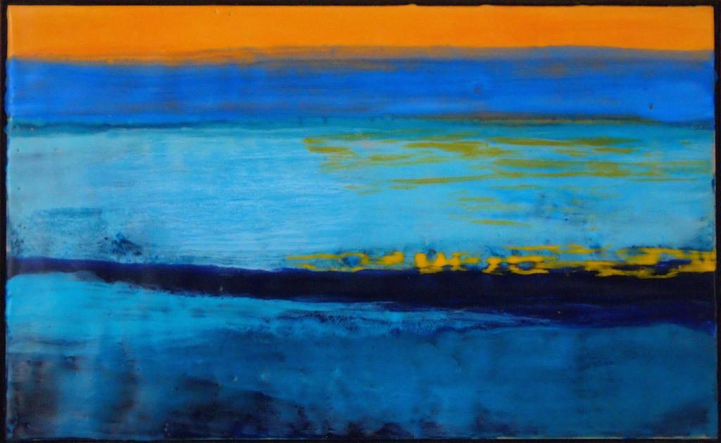 Martha Pfanschmidt, Nocturne 2, encaustic