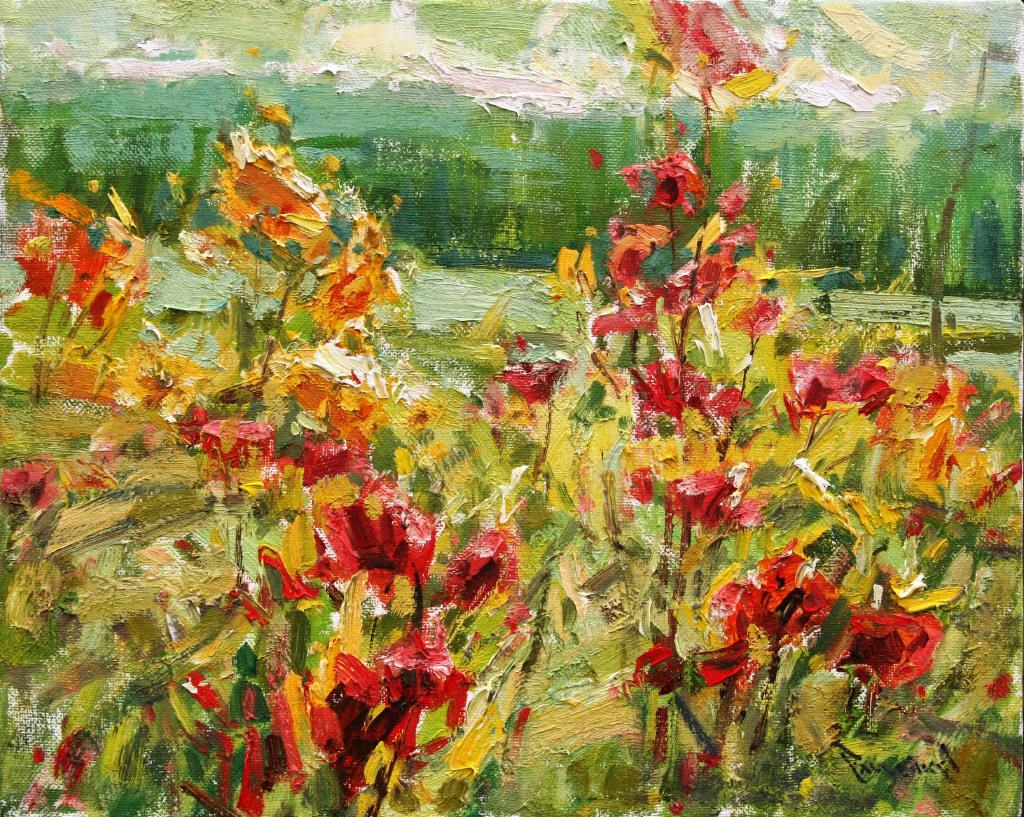 Anton Pavlenko, Secret Garden, oil