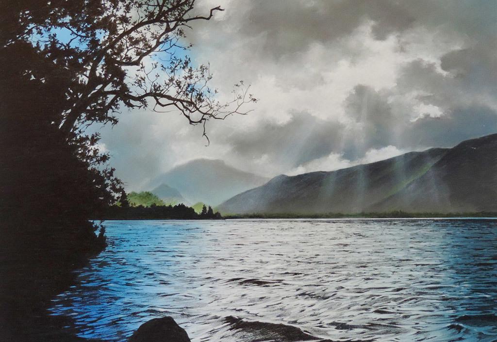 Richard Laycock, Lake District, pastel